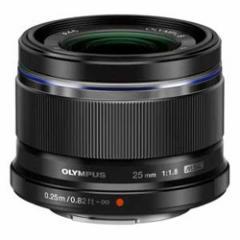 オリンパス 25MMF1.8(ブラック) M.ZUIKO DIGITAL 25mm F1.8(ブラック)※マイクロフォーサーズ用レンズ[25MMF18ブラク]【返品種別A】