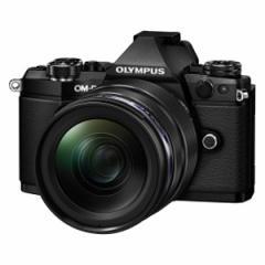 オリンパス OM-D E-M5 MarkII 12-40mm F2.8レンズキット(ブラック) OLYMPUS OM-D E-M5 MarkII E-M5 MK2 1240K(BLK)【返品種別A】