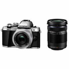 オリンパス デジタル一眼カメラ「OM-D E-M10 MarkII」 ダブルズームキット(シルバー) OM-D E-M10MK2WZK SLV【返品種別A】