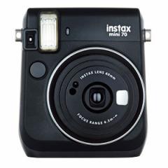 富士フイルム INS MINI 70 BLACK instax mini70 チェキ(ブラック)[INSMINI70BLACK]【返品種別A】