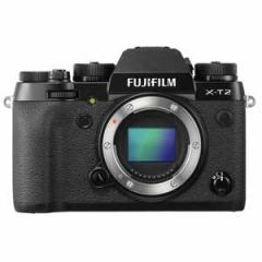富士フイルム F X-T2-B ミラーレスデジタルカメラ「X-T2」ボディFUJIIFILM X-T2[FXT2B]【返品種別A】