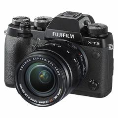富士フイルム F X-T2LK-B ミラーレスデジタルカメラ「X-T2」XF18-55mmF2.8-4 R LM OISレンズキットFUJIIFILM X-T2[FXT2LKB]【返品種別A】