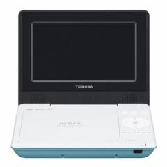 東芝 SD-P710SG 7型ポータブルDVDプレーヤーグリーンCPRM対応TOSHIBA REGZA レグザポータブルプレーヤー[SDP710SG]【返品種別A】