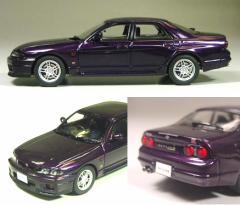 京商 1/43 スカイライン GT-R(R33)4ドア オーテックバージョン40thアニバーサリー パープル【K03711MP】ミニカー 【返品種別B】