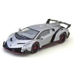 京商 1/43 Lamborghini Veneno(グレー/レッドライン)【K05571GR】ミニカー 【返品種別B】