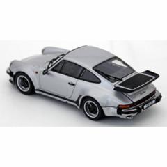 京商 1/43 ポルシェ 911 ターボ 3.3(シルバー)【KS05525S】ミニカー 【返品種別B】