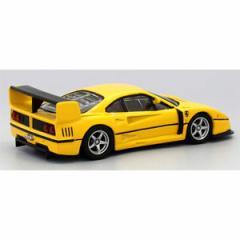 京商 1/64 Ferrari F40 GTE 組立キット(イエロー)ケース&ベース付【KS07049A4】ミニカー 【返品種別B】