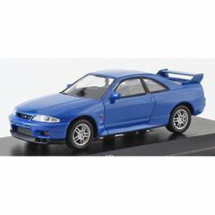京商 1/64 ニッサン スカイラインGT-R(BCNR33)ブルー【KS07047A6】ミニカー 【返品種別B】