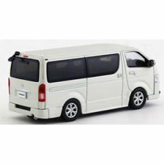京商 1/64 トヨタ ハイエース 2014 ホワイト【KS06663W】ミニカー 【返品種別B】