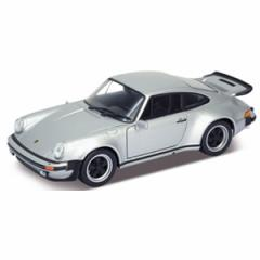 WELLY 1/24 ポルシェ 911 ターボ 1974(シルバー)【WE24043S】ミニカー 【返品種別B】