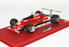 BBR 1/18 Ferrari 126C2 GP USA Long Beach 1982 D.Pironi  No.28【P18132B】ミニカー 【返品種別B】