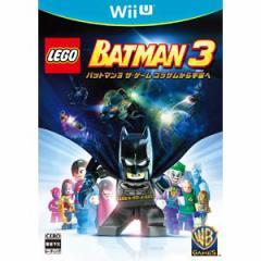【Wii U】LEGO(R)バットマン3 ザ・ゲーム ゴッサムから宇宙へ WUP-P-BTMJ【返品種別B】