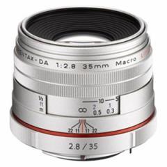 PENTAX HD-DA35/マクロSL HD PENTAX-DA 35mmF2.8 Macro Limited (シルバー)※DAレンズ(デジタル専用)[HDDA35マクロSL]【返品種別A】