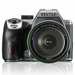 PENTAX デジタル一眼レフカメラ「PENTAX K-70」18-135WR レンズキット(シルキーシルバー) K-70-18-135シルキ-シルバ-【返品種別A】