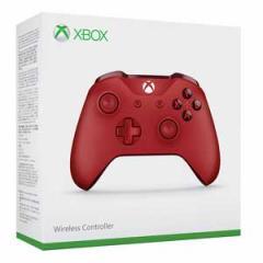 【Xbox One】Xbox ワイヤレスコントローラー(レッド)【返品種別B】