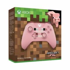 【Xbox One】Xbox ワイヤレス コントローラー(Minecraft Pig)【返品種別B】