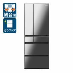 パナソニック NR-F605WPX-X 600L 6ドア冷蔵庫(オニキスミラー)Panasonic[NRF605WPXX]【返品種別A】