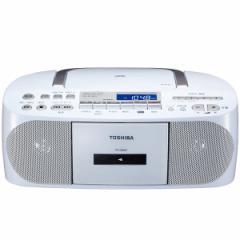 東芝 TY-CDH7-W CD対応ラジカセ(ホワイト)TOSHIBA[TYCDH7W]【返品種別A】