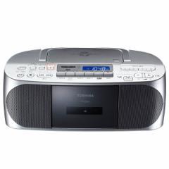 東芝 TY-CDX7-S CD/SD対応ラジカセ(シルバー)TOSHIBA[TYCDX7S]【返品種別A】【SALE商品】