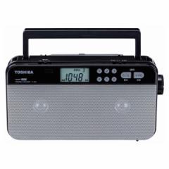 東芝 TY-SR55-S ワイドFM/AMラジオ (シルバー)TOSHIBA[TYSR55S]【返品種別A】