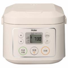 ハイアール JJ-M30C-W マイコンジャー炊飯器(3合炊き) ホワイトHaier[JJM30CW]【返品種別A】