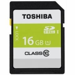 東芝 SDAR40N16G SDHCメモリーカード 16GB Class10 UHS-I[SDAR40N16G]【返品種別A】