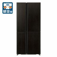 アクア AQR-TZ51H-T 512L 4ドア冷蔵庫(ダークウッドブラウン)AQUA TZシリーズ[AQRTZ51HT]【返品種別A】