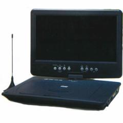Wizz DV-PT1060 10.1型ポータブルDVDプレーヤー(ブラック) CPRM対応Wizz[DVPT1060]【返品種別A】
