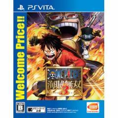 【PS Vita】ワンピース 海賊無双3 Welcome Price! ! VLJM-35430【返品種別B】