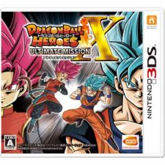 【3DS】ドラゴンボールヒーローズ アルティメットミッションX CTR-P-BD9J【返品種別B】