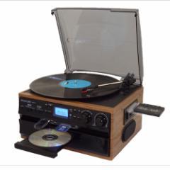 PIF RTC-29 レコード/CD/ラジオ&カセット搭載多機能プレーヤーDEAR LIFE[RTC29]【返品種別A】