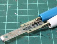 みやこ模型 (N) K-54 3ポジションライト基板 カトー用 白色A ミヤコモケイ K-54 ライトキバン ハクショク【返品種別B】