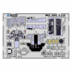 ビーバーコーポレーション 【再生産】1/48 F-15Jイーグル 内装(ハセガワ用)【BEL4002】エッチングパーツ 【返品種別B】