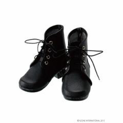 アゾン ドールウェア 50編み上げショートブーツ ブラック【FAR175-BLK】(48cm/50cm用) 【返品種別B】