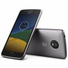 モトローラ PA610105JP(G5-16GY) SIMフリースマートフォン Moto G5 ルナグレー[PA610105JPG516GY]【返品種別B】