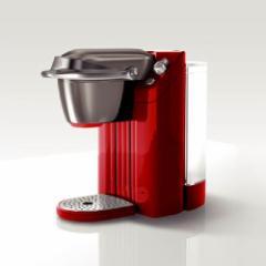 UCC BS200(QR) コーヒーメーカー クイーンレッドキューリグコーヒーシステム[BS200QR]【返品種別A】