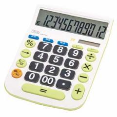 ナカバヤシ ECD-8503G 卓上電卓 12桁デスクトップ大型キータイプL[ECD8503G]【返品種別A】