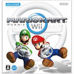 マリオカートWii【Wii用】【Wiiハンドル同梱】Wii用ソフト Wiiマリオカート【返品種別B】