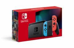 【新モデル】Nintendo Switch 本体【Joy-Con(L) ネオンブルー/(R) ネオンレッド】【返品種別B】