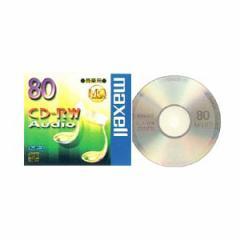 マクセル CD-RWA80MQ1TP 音楽用CD-RW80分 1枚maxell[CDRWA80MQ1TP]【返品種別A】