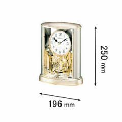 シチズン 置時計サルーン-18 4SG724-018[4SG724018]【返品種別A】