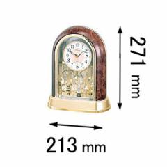 シチズン 置時計パルドリームR656-23 4RY656-023[4RY656023]【返品種別A】