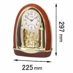 シチズン 置時計パルドリームR414-23 4RN414-023[4RN414023]【返品種別A】