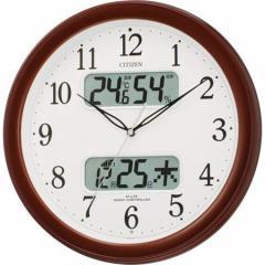 シチズン 電波掛時計ネムリーナカレンダーM01-06 4FYA01-006[4FYA01006]【返品種別A】