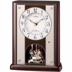 シチズン 置時計パルロワイエR411-06 8RY411-006 パルロワイエR411-06[パルロワイエR41106]【返品種別A】