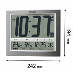 シチズン 掛時計パルデジットワイド140-19 8RZ140-019[8RZ140019]【返品種別A】
