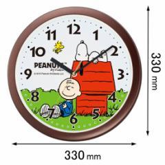 リズム時計 掛時計 【スヌーピー】4KG712MA06 スヌーピーM712A-006[スヌピM712A006]【返品種別A】