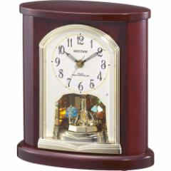リズム時計 置時計4RY681SR06 パルロワイエR681SR[パルロワイエR681SR]【返品種別A】