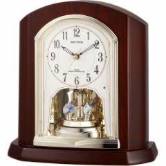 リズム時計 置時計4RY702SR06 パルロワイエR702SR[パルロワイエR702SR]【返品種別A】