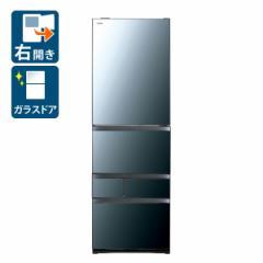 東芝 GR-R470GW-XK 465L 5ドア冷蔵庫(クリアミラー)【右開き】TOSHIBA[GRR470GWXK]【返品種別A】
